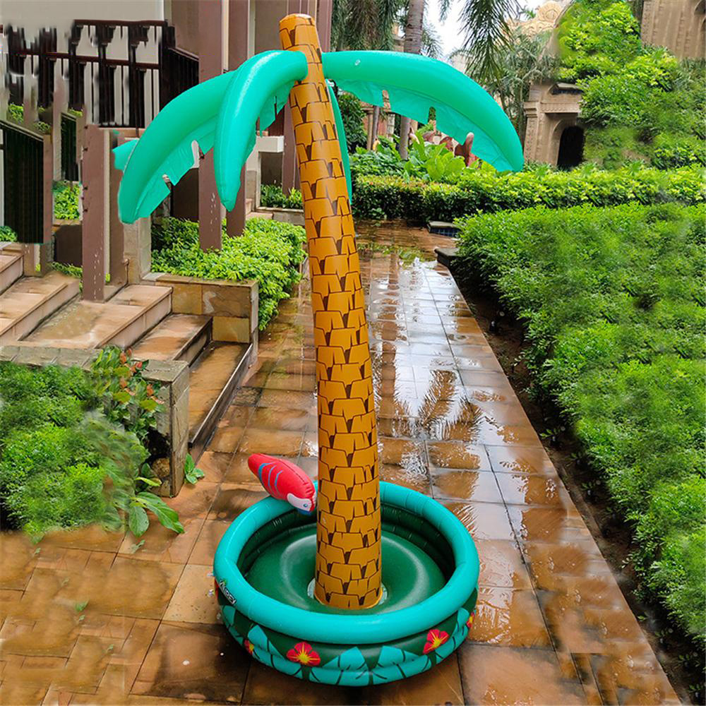 180cm Inflatable Large Coconut Tree Ice Bucket Beverage Pool Cubic Beer Whiskey Frozen Beach Party Toy Inflatable Chair