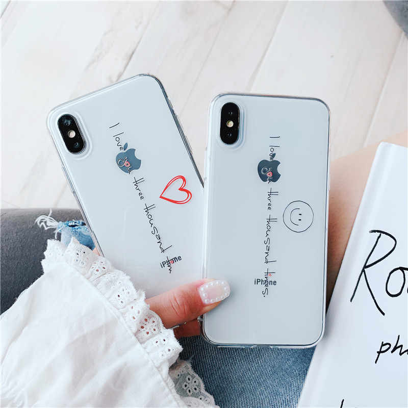 Luxury TPU Iron Man Quotes I Love You Three Thousand Case for 6 6s 6p 6splus 7plus 8p X XR MAX All Inclusive iPhone 11  11PROMAX