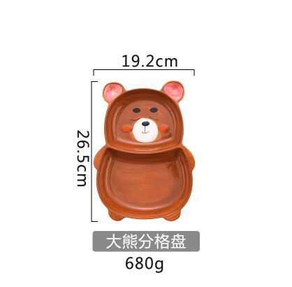 bear separate plate