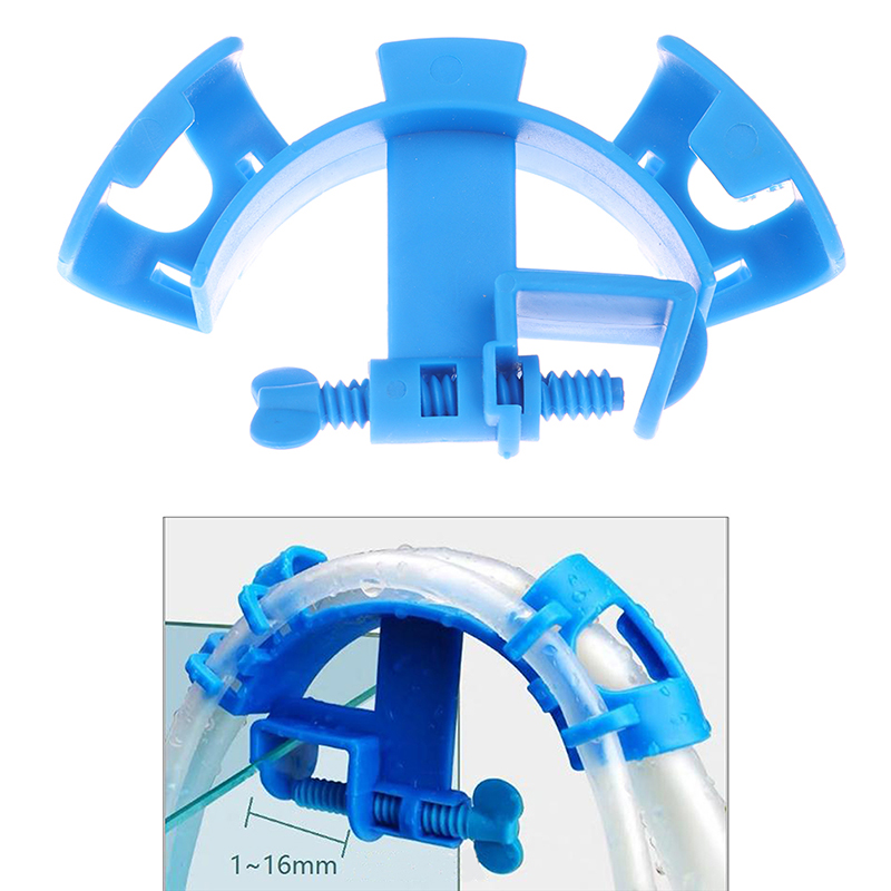 1pc High Quality Fish Aquarium Filtration Water Pipe Filter Hose Holder Mount Tube Tank Accessories Aquarium Filter Accessories