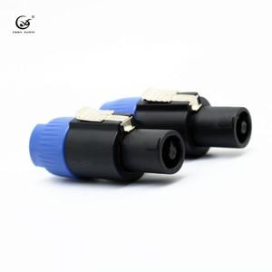 Image 1 - Xssh Speakon Connector NL4FX 4 Pole Plug Mannelijke Speaker Audio 4 Pin Connector Diy Audio Kabel