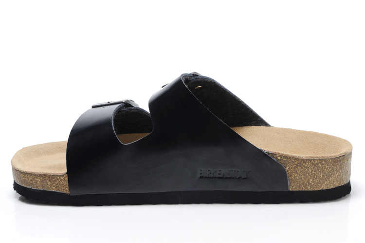 2019 Original Birkenstock รองเท้าแตะผู้ชายฤดูร้อน Arizona รองเท้าแตะหนังผู้ชาย Unisex รองเท้าชายหาดรองเท้าแตะ 802 รองเท้าแตะ Cork