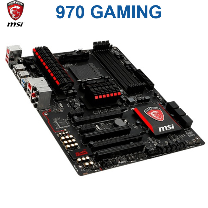 Socket AM3/AM3+ MSI 970 GAMING Motherboard DDR3 32GB USB2.0 USB3.0 970 Desktop AMD 970 Mainboard Used AM3 AM3+ DDR3 image