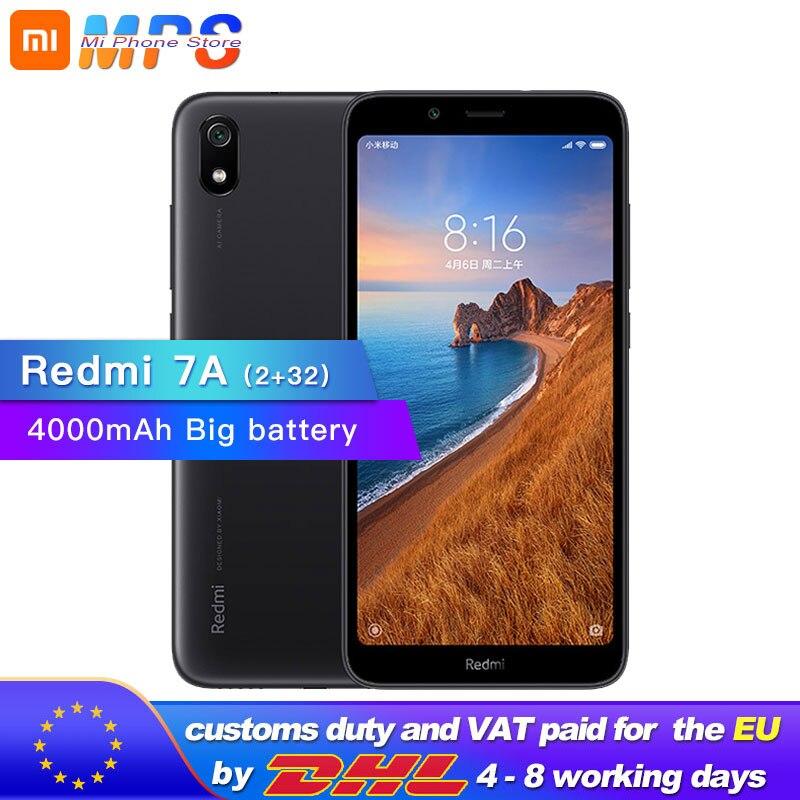 Купить Xiaomi Redmi 7A 7 A 32GB rom 2GB ram 5,45