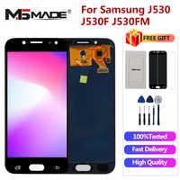 J530FM Display Per Samsung Galaxy J5 2017 J5 Pro LCD J530 J530F J530M SM-J530F J5 Pro Display LCD Dello Schermo di Tocco digitizer di Ricambio
