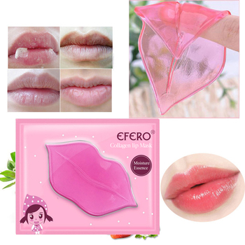 10 pcs Efero lip mask Lip Care Serum Lip Plumper masks for lip Reduce Fine Lines Lip Mask Lip Care Korean cosmetics
