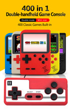 Konsole do gier wideo mini gra Retro wbudowane 400 w 1 przenośne gry gracze do gier box 400 w 1 zabawki chłopięce retroid pocket
