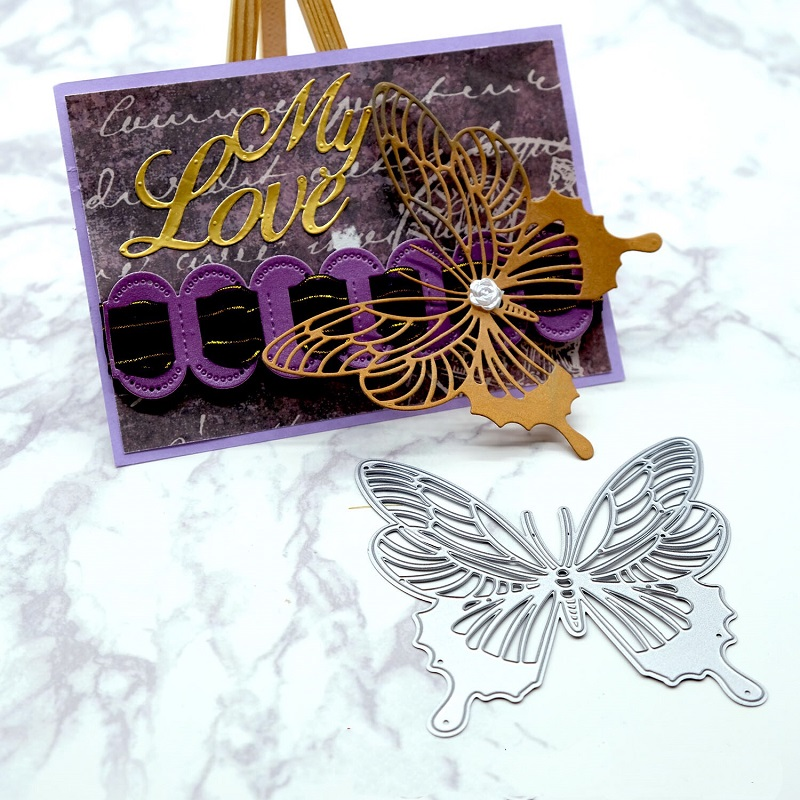 Butterfly Metal Cutting Dies Scrapbooking Embossing card Making Photo Album diy