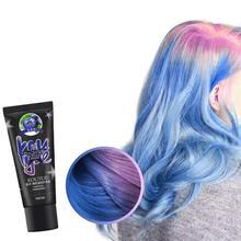 50ML 1pcs Color Changing Wonder Dye Hair Disposable Dye Gray Hair Color Cream Thermo Sensing Shade Shifting Hair Color Wax