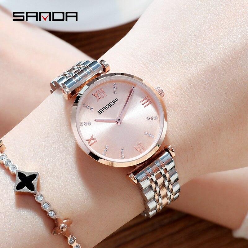 2020 NEW Women's Watches Luxury Gold Watch Clock Women Quartz Watch Waterproof Ladies Wacthes Reloj Mujer Montre Femme
