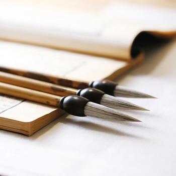 3pcs Calligraphy Brush Caligrafia Regular Script Horse Hair Brush Chinese Landscape Painting Writing Brush Pen Tinta China