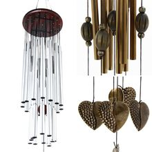 2018 Creative Antirust Copper Wind Chimes Lovely Outdoor Living/Yard Garden Decorations Birthday Gifts to Friends PGM