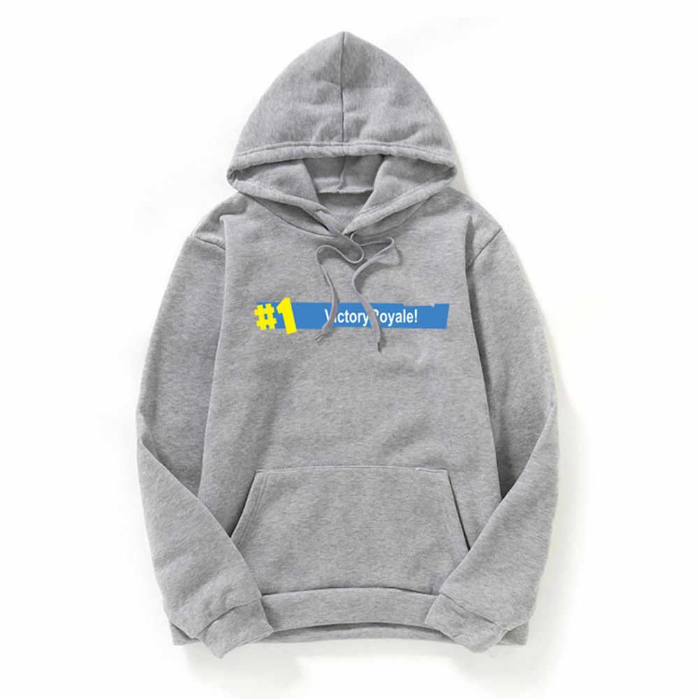Womail 2019 新着メンズ秋冬レタープリントロングスリーブフードジャケットコートトップ男性服ブランドブラウス