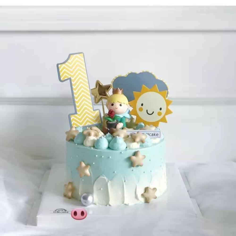 Cakelove Indah Pangeran Kecil Anak Anak Kue Ulang Tahun Dekorasi Kue Dekorasi Pesta Supliy Anak Peri Baking Hadiah Yang Indah