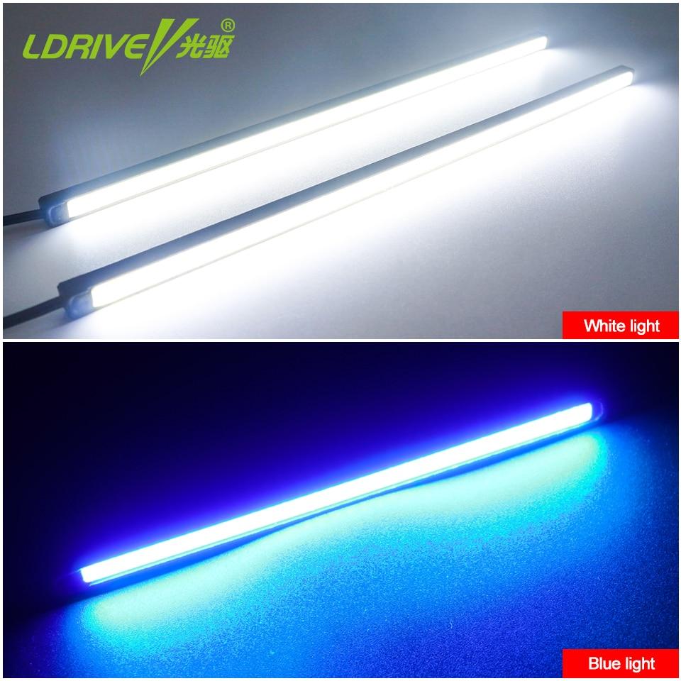 2Pcs / Lot LED i papërshkueshëm nga uji LED Dita e Dritës duke - Dritat e makinave - Foto 6
