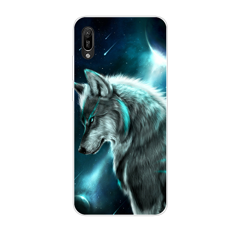 Huawei y6 2019 Case Huawei Y6 2019 Silicone TPU Cover Soft Phone case For Huawei Y6 2019 MRD-LX1 MRD-LX1F Y 6 pro Y6Prime Case 2