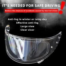 Anti-fog Patch Visor Lens Motorcycle Full OpenFace Helmet Generic Universal Clea