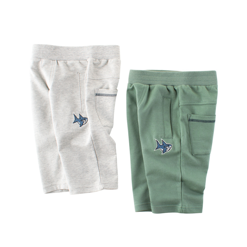 VIDMID Summer Children Shorts Clothes Cotton Shorts For Boys Kids Beach Trousers Children's Cotton Clothing Trousers 4037 32