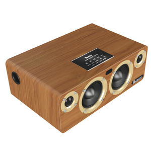 Image 4 - 80W Bluetooth Speaker Built in TI3116 Chip HD Audio TV Louderspeaker Home Computer Music Player SPDIF Bookshelf Wood Speakers