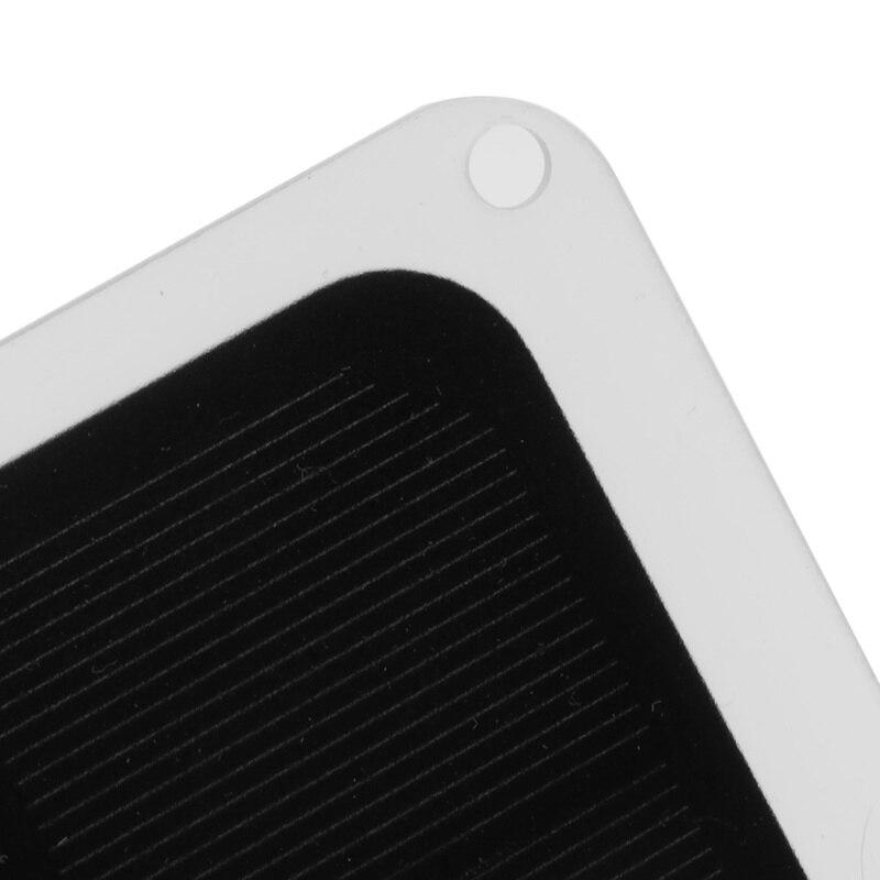 20W 5V Zonnepaneel Waterdichte Usb Monokristallijn Zonnepaneel Outdoor Charger Zonnecellen Mobiele Module Voor Camping Emergency 5