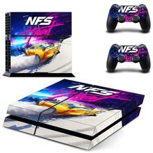 ملصقات نيفر فور سبيد NFS PS4 بلاي ستيشن 4 سكين PS 4 ملصق الشارات للبلاي ستيشن 4 PS4 وحدة التحكم ووحدة التحكم الجلد الفينيل