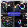 GeeekPi Rack Tower 4 Layer Acrylic Cluster Case Large Cooling Fan LED RGB Light for Raspberry Pi 4 B   3 B     3 B   Jetson Nano discount