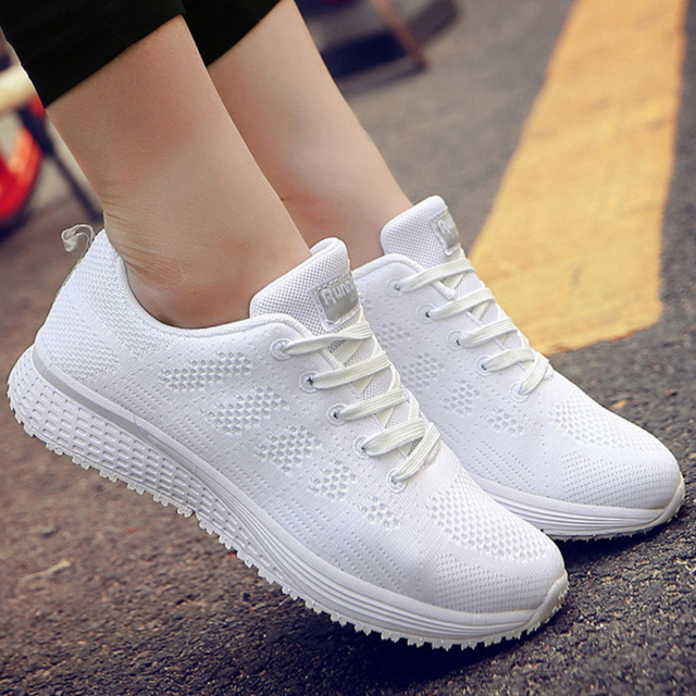 Casual Shoes Woman Air Cushion Breathable Walking Shoes For Women Outdoor Summer Sneakers Women Hiking Jogging Trainers Boots 5