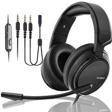 Casque Bass Headset Gamer 7.1 Headphone With Mic for Nintendo switch PS4/phone Headset gaming недорого