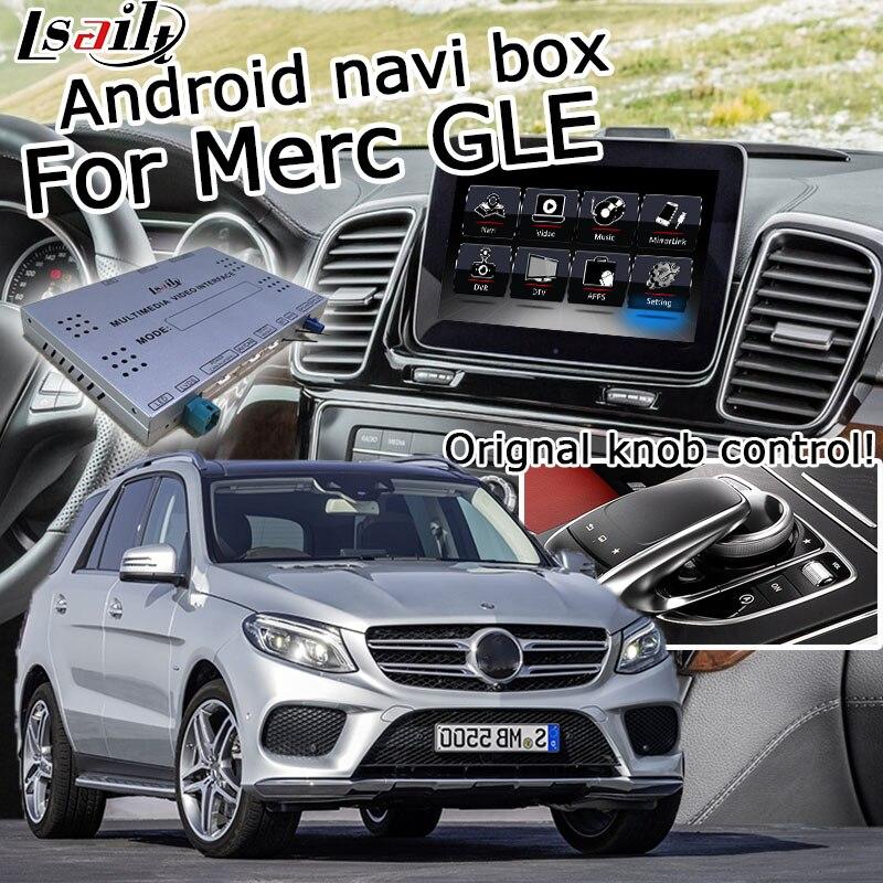 Android / carplay interface system box für Mercedes benz GLE W166 NTG 5,0 GPS navigation video interface spiegel link ML lsailt
