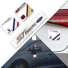 1) украшение для ПК стикеры 3d алюминиевые автомобильные эмблемы