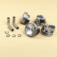 Free DHL 4pcs OEM Piston & Ring Set For AUDI A3 A4 TT VW Golf Jetta Passat Beetle EA888 1.8T 06H 107 065 06H107065
