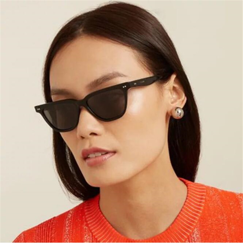 Cat Eye Sunglasses Women Men Fashion Square <font><b>Unisex</b></font> Wrap Frame Sun Glasses Sports Outdoor Shades Female Eyewear ó<font><b>culos</b></font> de sol image