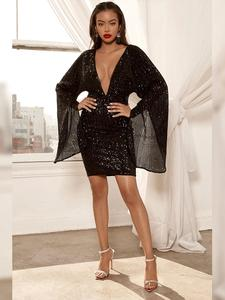 Ocstrade Black Bodycon Dress Big-Sale Women Sexy High-Quality Summer 10th Anniversay
