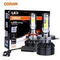 OSRAM оригинальные автомобильные светодиодсветодиодный лампы H7 H4 для автомобильных фар 9012 HIR2 LED HB2 9003 H1 9005 9006 HB4 HB3 H11 H8 H16 nebbia 6000K белый 12 В