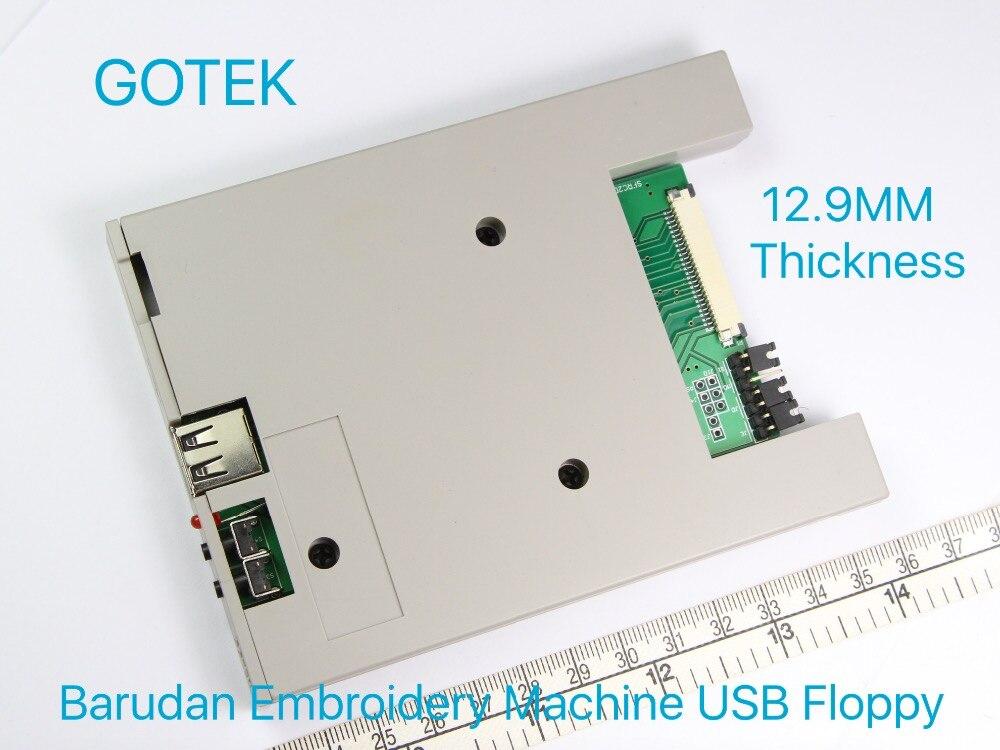 SFR1M44-DU26 GOTEK, USB/disquete, transductor, disquete, 12,9 emulador de MM de espesor, piezas de máquina de bordado BARUDAN