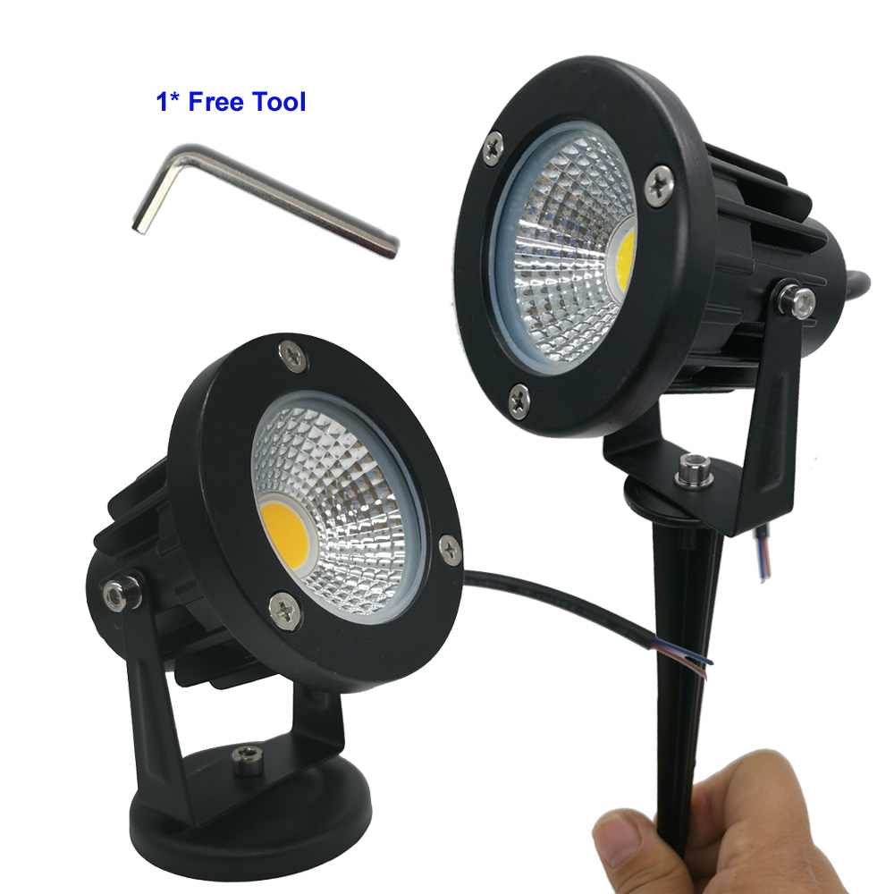 DC 9W Waterproof Lights LED Lawn Lamp DC12V Landscape Spot Light IP65 12 V Outdoor Lighting Lamps Spike Light For Garden