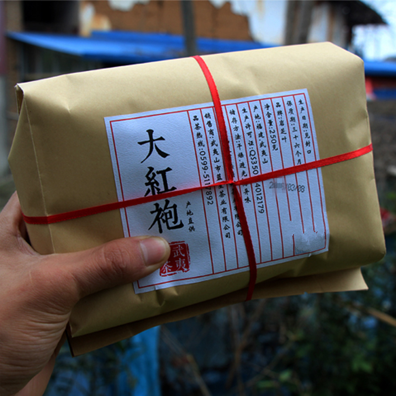 2019 Chinese Pao Da Hong Pao Tea 500g Big Red Oolong Robe The Original Wuyi Rougui Tea For Health Care Lose Weight