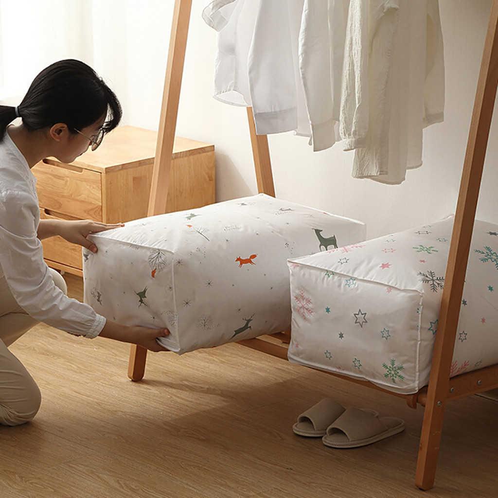 Foldable Storage Bag Clothes Blanket Quilt Closet Sweater Organizer Box Pouches Storage Drawers Storage Organizer