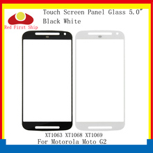 10Pcs/lot Touch Screen For Motorola Moto G2 XT1063 XT1068 XT1069 Touch Panel Front Outer LCD Glass Lens For Moto G2 Replacement 5pcs original lcd digitizer with frame replacement for motorola moto g2 xt1063 xt1068 xt1069 display with touch screen assembly
