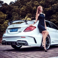 Carbon Fiber Spoiler For BENZ CLA W204 W205 W212 W117 2014 UP Wing Spoilers High Quality Car Modification Accessories