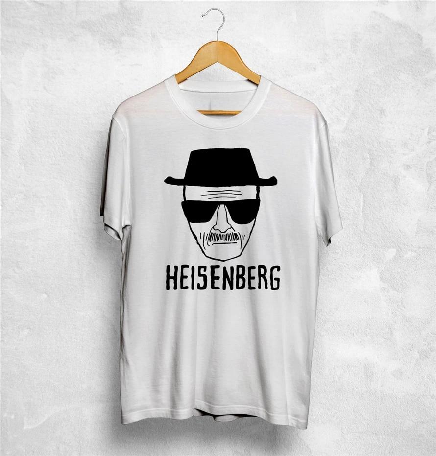 Breaking  Bad T-Shirt Heisenberg Top Crystal Face T-Shirt