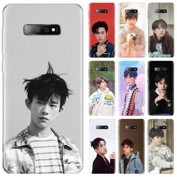 TFBOYS Jackson Yee band singer cover coque funda Phone Case For Samsung Galaxy S5 S7 S8 S9 S10 S10e S20 edge plus lite image