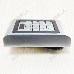 Image 2 - 2 Doors Dual Relay AC DC 12V 28V Waterproof Access Control Keypad IP66 Outdoor RFID 125KHz EM Card Reader Electronic Lock Opener