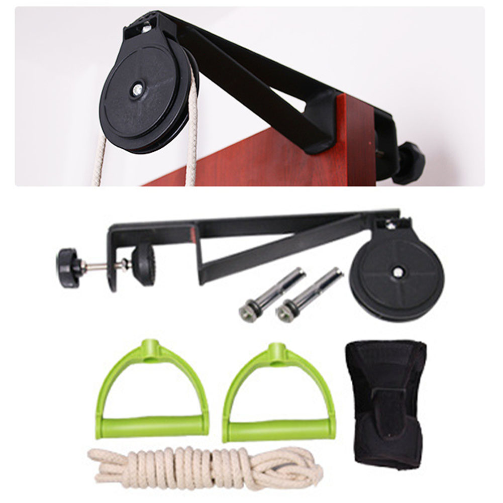 Rehabilitation Training Kit Upper Limb Door Hanging Pain Relief Assisting Braces Supports Durable ABS Shoulder Joint Exercise