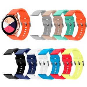 Силиконовый спортивный ремешок для Galaxy watch, активный смарт-ремешок для часов, браслет для samsung Galaxy 42 мм, сменный ремешок для часов