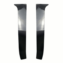 цена на Rear Wing Side Spoiler Stickers For Volkswagen Golf 7 MK7 Car Rear Wing Side Spoiler Cover Auto Styling Accessories