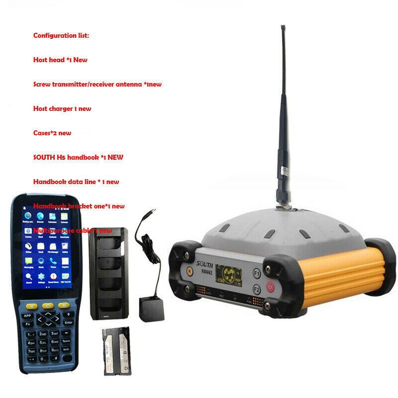 NEW SOUTH GPS RTK Measurement System S86 With Display