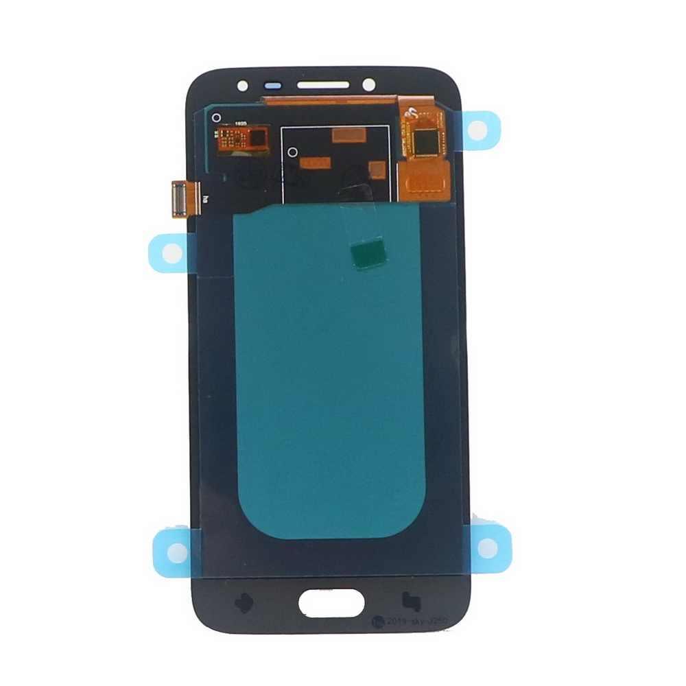 100% Được Kiểm Tra Màn Hình LCD Dành Cho Samsung Galaxy Samsung Galaxy J2 Pro 2018 J250 J250F J250H Màn Hình Bộ Số Hóa Cảm Ứng Có Điều Chỉnh Độ Sáng