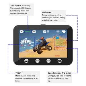 170 Graden Wide View Motorcle Dvr Sony Imx 307 Sensor 1080P Fhd Nachtzicht Wifi Motor Dash Cam Video recorder Ondersteuning Gps