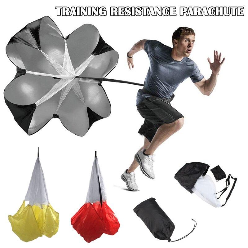 Speed Training Resistance Parachute Agility Training Umbrella Resistance Rope Running Chute  JT-Drop Ship